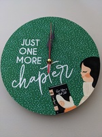 Just one more chapter clock