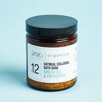Oatmeal Green Tea Bath Soak by LM Organics