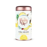 Pinky up pina colada green loose leaf tea