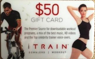 $50 iTrain Gift Card