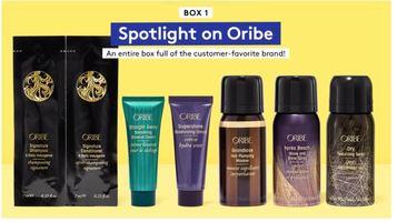 Spotlight on Oribe - Birchbox January 2020 Curated Box #1