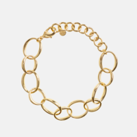 BaYou With Love Oval Chain Bracelet