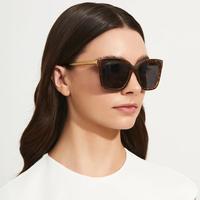 DIFF Bella Sunglasses in Tortoise