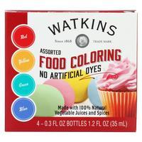 J.R. Watkins Assorted Food Coloring