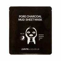 JJ Young by Caolion Lab 3D Peel Off Pore Charcoal Mud Sheet Mask