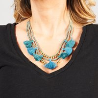 Bluma Project Luna Necklace in your choice of Sand or Lagoon