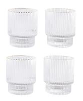 Denmark Set of 4 Short Gilded Cups