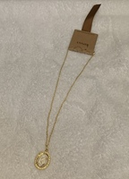 "Kevia Letter ""K"" Pendant Necklace"