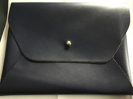 Small clutch/envelope bag in Navy