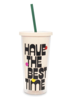 Sip Sip Tumbler with Straw