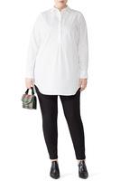 Universal Standard Safra Tunic - white