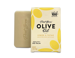 Peet Bros Olive Oil Bath Bar Soap - Lemon & Thyme Scent