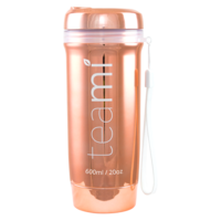 teami - Luxe Rose Gold on-the -go Tumbler