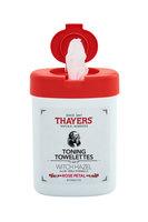 Thayers Witch Hazel Rose Petal Toning Towelettes
