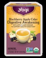Yogi Blackberry Apple Cider Digestive Awakening Tea