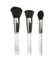 OPULENT BEAUTY - CRYSTAL CLEAR 3 PC BRUSH COLLECTION