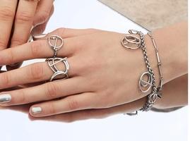 Wanderlust + Co. Helix (Double Strand) Bracelet