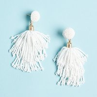 Panacea Beaded Tassel Earrings