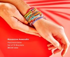 Roxanne Assoulin - Patchwork Brite Set of 10 Bracelets