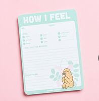 Pusheen How I Feel Notepad
