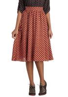 Modcloth Lakeside Manor skirt