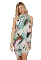 Subtle Luxury - Sarong in Birds of Paradise