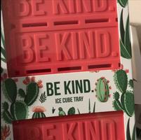 Be Kind Custom Ice Cube Tray
