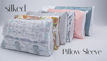 Silked Satin Pillow Sleeve