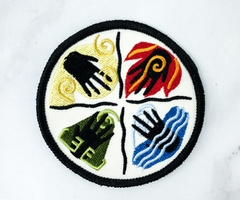 Avatar: The Last Air Bender Iron on patch