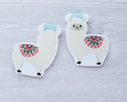 Alpaca Magnetic Bookmark