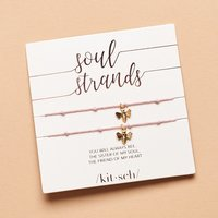 Kitsch Soul Strands Bee Bracelet Set