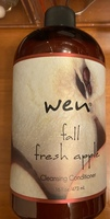 Wen fall fresh apple cleansing conditioner