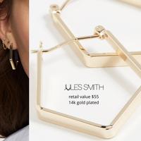 Jules Smith 14k earrings - RV $55