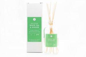 Feya Candles Reed Diffuser - White Tea & Ginger