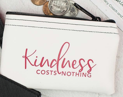 Kindness Costs Nothing Coin Purse