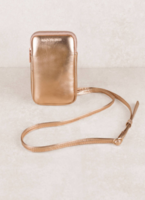 MyTagalongs Call Me maybe Rose Gold Cell Phone Crossbody Bag