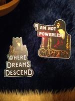 Where Dreams Descend vinyl stickers