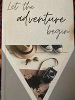 Let the adventure begin travel journal
