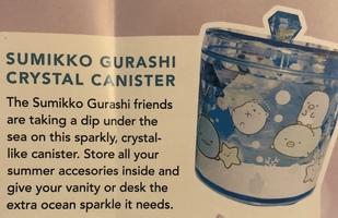 Sumikko Gurashi crystal canister