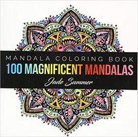 100 Magnificent Mandalas Coloring Book