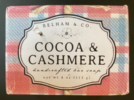 Belham & Co. Handcrafted Bar Soap - Cocoa & Cashmere