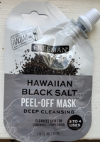 Freeman Hawaiian Black Salt Peel Off Mask