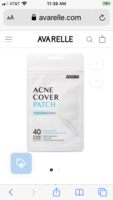 Avarelle Acne Cover Patch 8 count