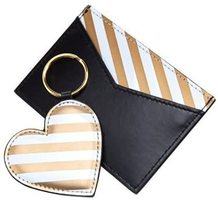 see jane work card holder and key ring set