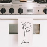 PCB Home Blossom Wildflower Tea Towel