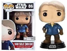 Loot Crate Exclusive Han Solo (Snow Gear) Funko Pop