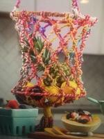 Macrame Hanging Fruit Basket