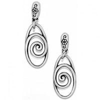 Rock n Roll Scroll drop earrings