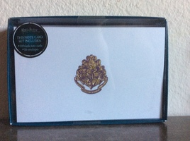 Harry Potter Hogwarts Foil Note Cards (Set of 10)