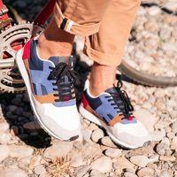 Faguo Ivy Sneaker in Navy & Cream